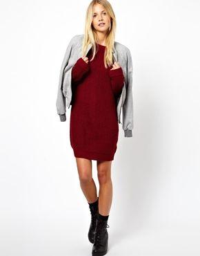 Bild 4 von ASOS – Pulloverkleid