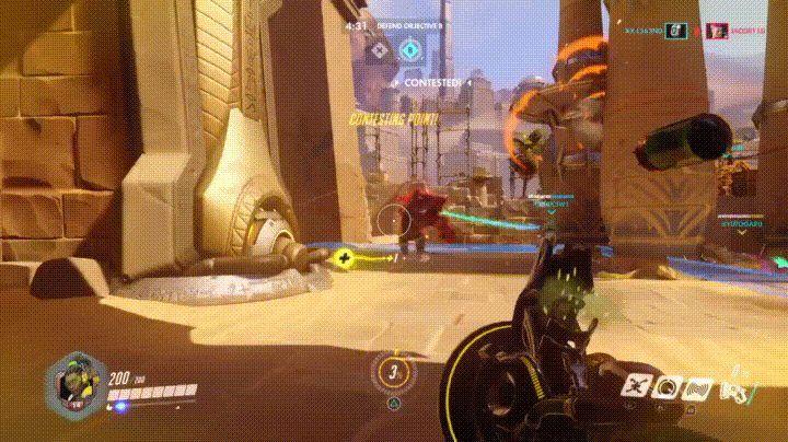 Healer vs Tank (Overwatch) http://ift.tt/2waOauT