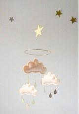 So cute: Felt Cloud, Cloud Mobiles