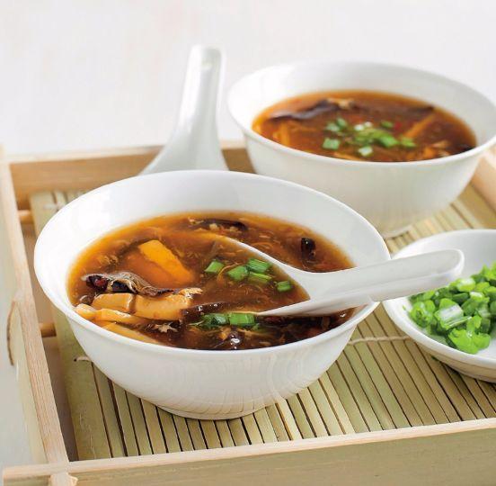 Čínska ostrokyslá polievka | Recepty.sk