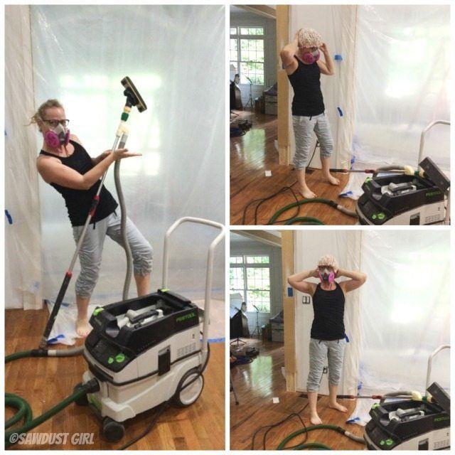 Dust Free Drywall Sander Shop Vac Attachment Drywall Sander Drywall Sawdust Girl