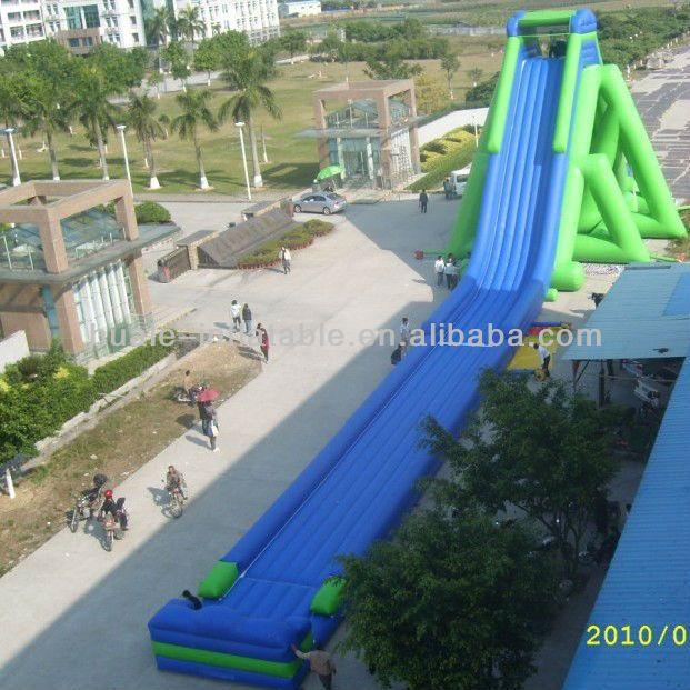 Giant Backyard Games: #water Slide, #inflatable Water Slide, #giant Inflatable