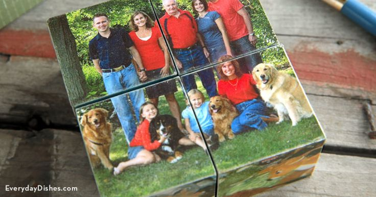 How to Make a DIY Photo Puzzle