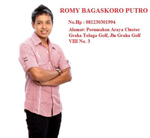Pemain Dj Romy Bagaskoro, Dj Populer Romy Bagaskoro, Dj Terbaik, Dj Indonesia, Dj Dunia, Dj Ganteng, Dj Terkenal, Dj Keren, Dj Hits, Dj Populer, Dj Pro, Dj Terbaru.  Pemain Dj Romy Bagaskoro, Pemain Dj Romy Bagaskoro, Pemain Dj Romy Bagaskoro, Dj populer, Populer   Fb : https://www.facebook.com/profile.php?id=100004938076835&ref=ts&fref=ts  ROMY BAGASKORO PUTRO No.Hp : 081230301994 Alamat: Perumahan Araya Cluster Graha Telaga Golf, Jln Graha Golf VIII No. 3