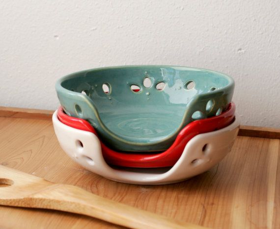 Ceramic Spoon Rest Choose Your Color Stovetop Ladle by GiselleNo5