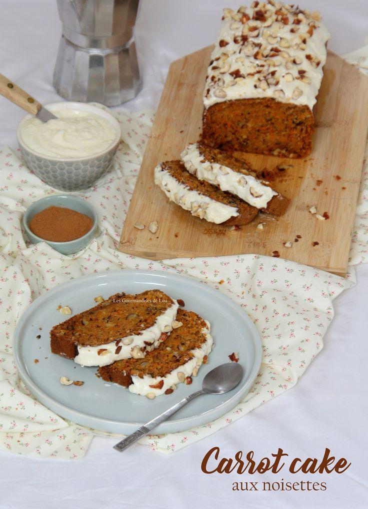 Carrot cake : où comment allier la douceur de la carotte et le parfum des noisettes à la gourmandise d'un glaçage au cream cheese