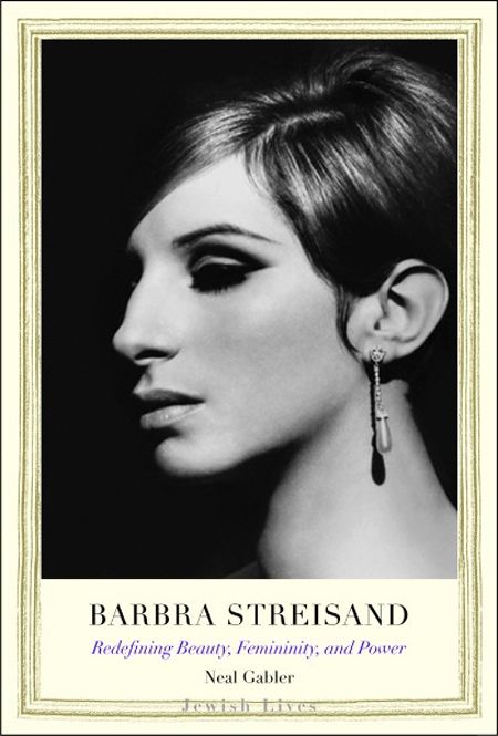 Steve Schapiro and Lawrence Schiller's black-and-white profile shot is the perfect portrait to grace a biography entitled 'Barbra Streisand: Redefining Beauty, Femininity, and Power'