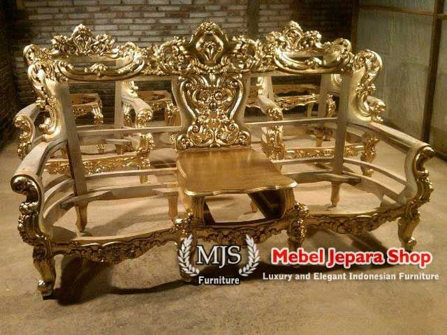 Sofa Tamu Victorian Eolo Mewah
