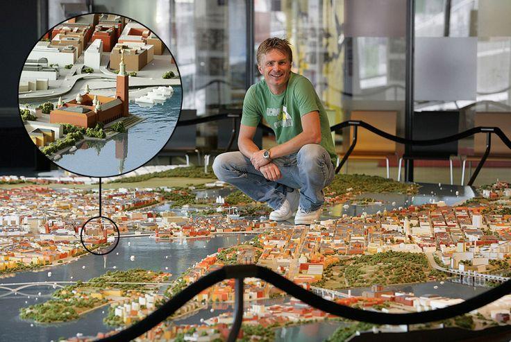 — Архитектурные макеты и модели городов: галерея, 18 фото