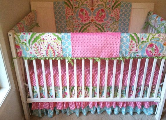 39 best pink and aqua baby nursery ideas images on pinterest