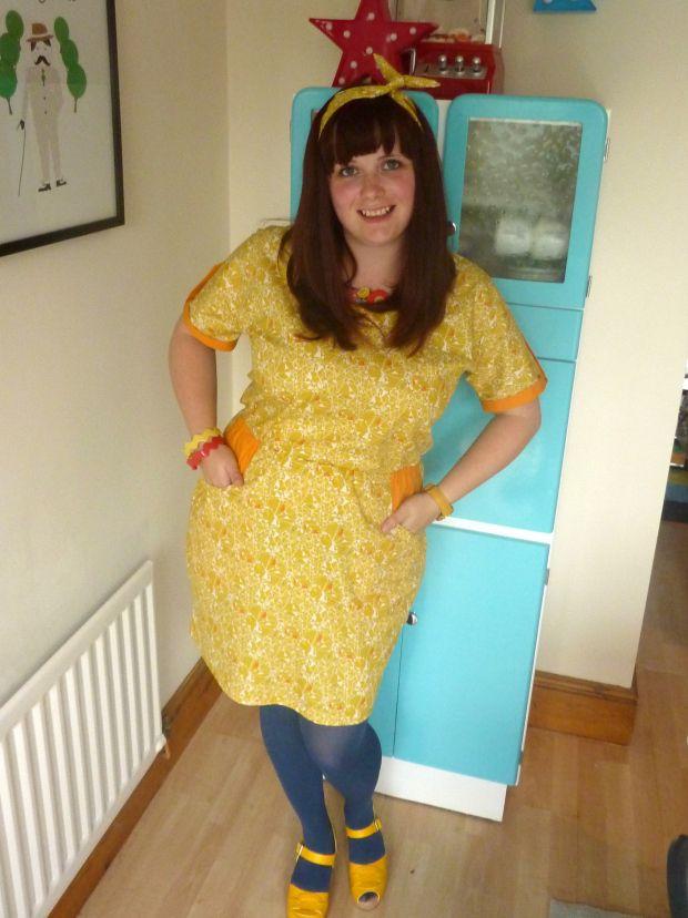 """Handmade dress - Tilly & the Buttons """"Bettine"""" dress"""