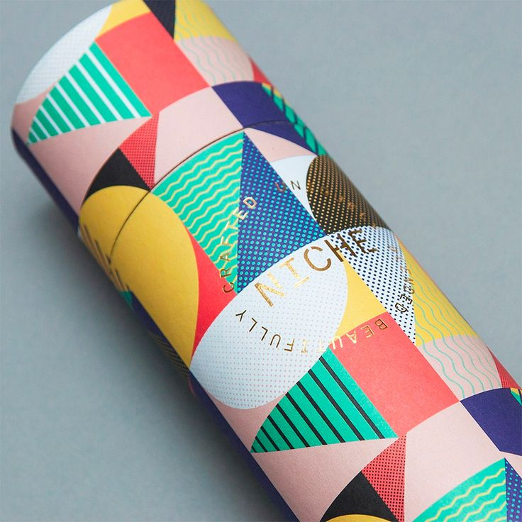 "East London branding & communications agency IWANT design produced this colorful identity and packaging for Niche Tea, a uniquely blended, beautifully crafted wellness tea. ""We worked closely with Niche developing branding, packaging, marketing and an e-commerce website. From the outset we agreed we wanted to create a lifestyle brand, a tea range that kicked against the glut of high street tea brands, and that would sit as comfortably on the pages of Wallpaper as it would in your O..."