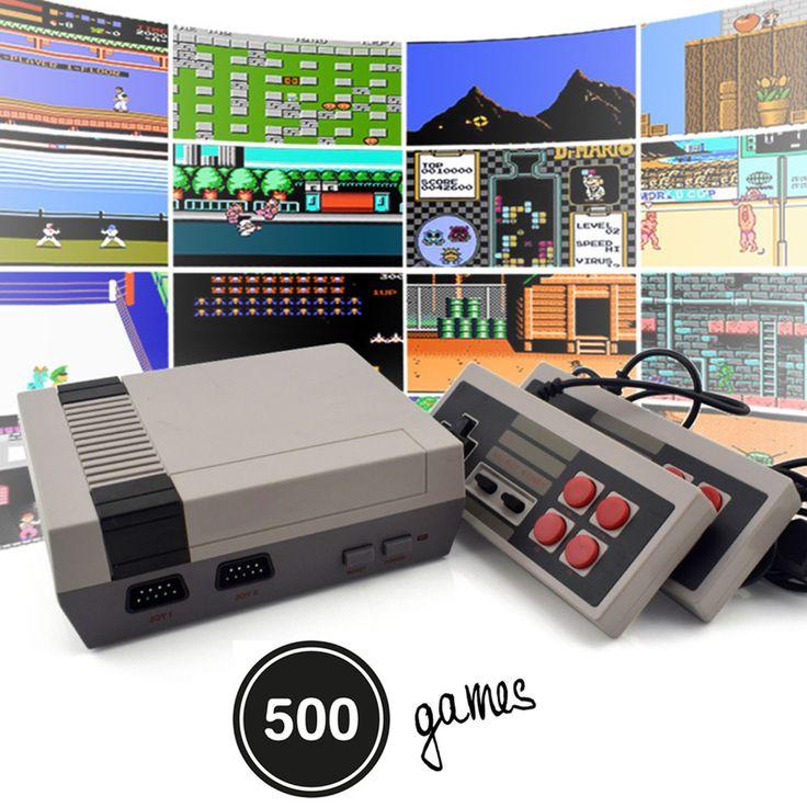 Mini Vintage Retro TV Game Console Classic Edition For Nintendo NES System Games #UnbrandedGeneric
