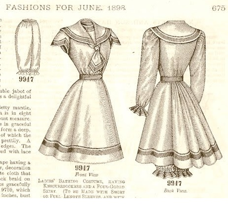 Threads and Thimbles: Victorian Bathing Suit