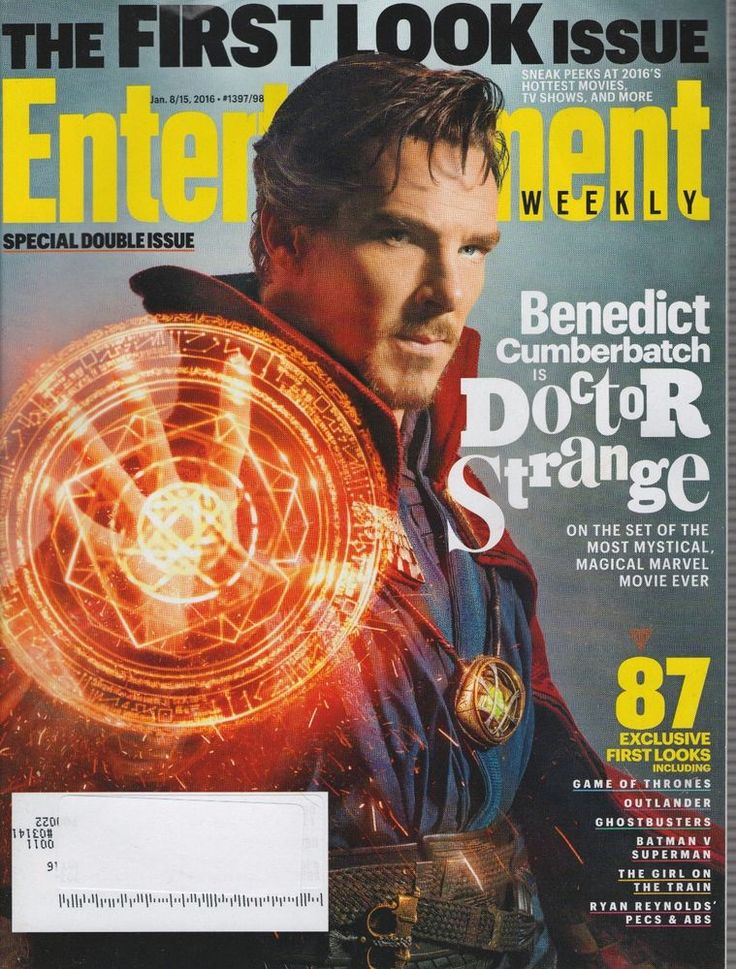 Entertainment Weekly January 8/15, 2016 - Special Double Issue, 1st Look Issue