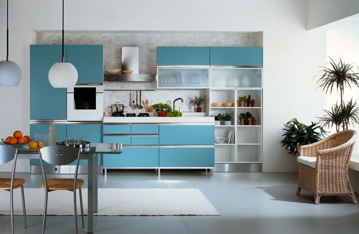 Kék színű konyha - Tesi 2.c