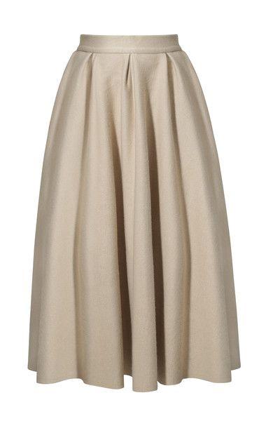 spódnica z tiulem TYRMANDÓWKA biszkoptowy beż - Riskmadeinwarsaw - Spódnice tiulowe i halki