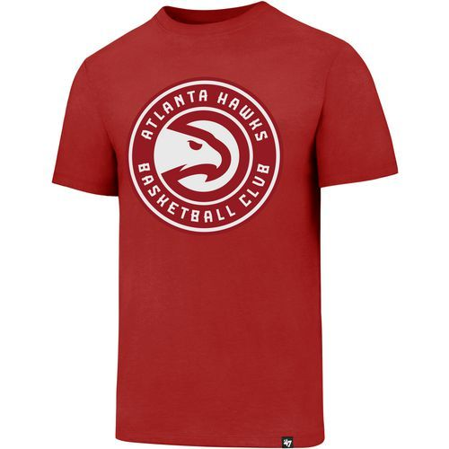'47 Men's Atlanta Hawks Global Logo Club T-shirt (Red, Size Small) - Pro Licensed Product, Nba Tees at Academy Sports