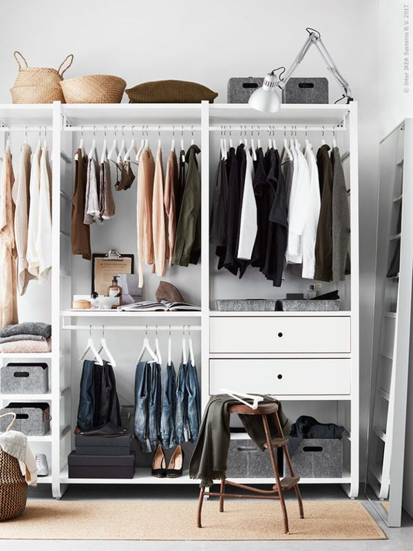 IKEA Closets to Create a Custom Closet