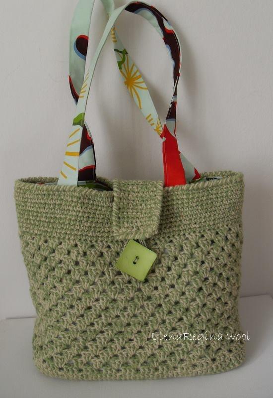 ElenaRegina wool: Borsa pistacchio Tutorial