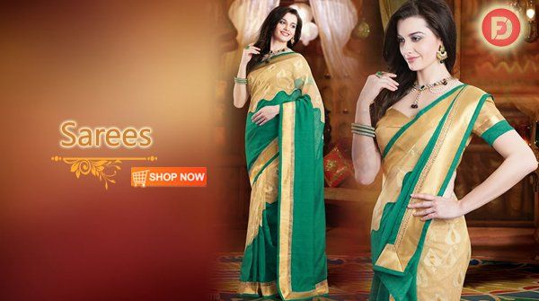 #ethnicwear Exclusive Sarees Collection from top brands @ reasonable price.  #FarziDeal