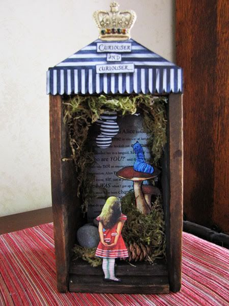 lots of ways to make a shrine....here is one of many