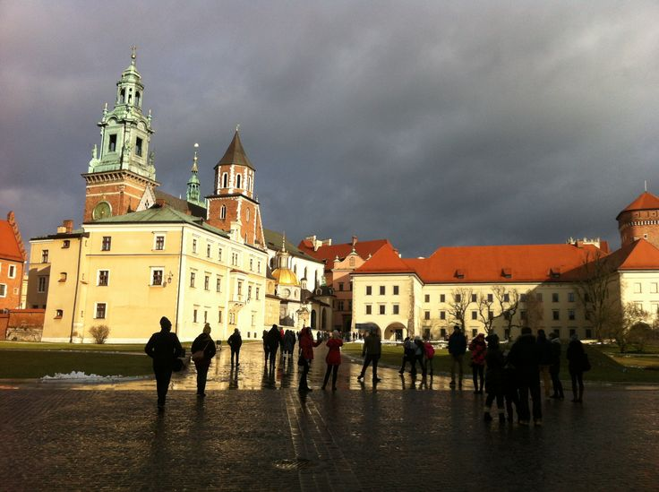 #Kraków in January. #Poland