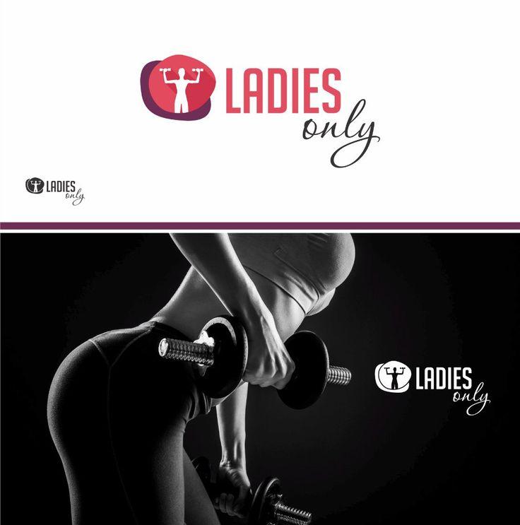 LadiesOnly - персональный фитнес Логотип для https://www.facebook.com/yevgeniy.ulyanenko?fref=ts