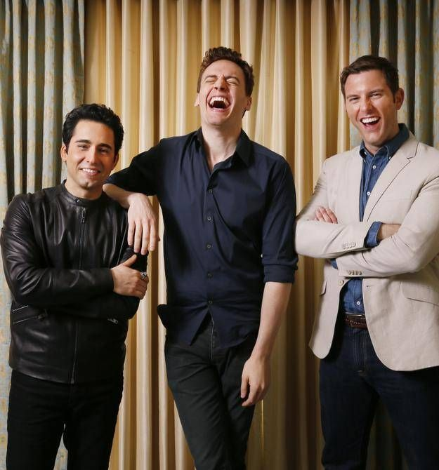 Erich Bergen, Michael Lomenda and Tony Award winner John Lloyd Young are grateful for chance to bring their stage roles to life.