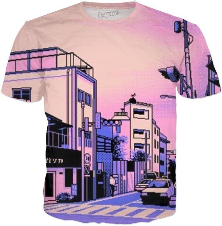 Vaporwave Radio City T-Shirt
