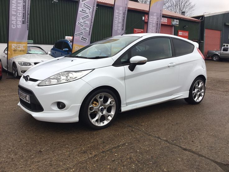 Click the link to see more pics and details of this ford fiesta 1.6 2009 zetec s white 3dr mountune performance bargain cheap
