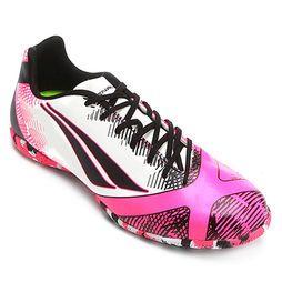 c54f48fd51 Chuteira Penalty Victoria RX 2 VI Futsal - Pink+Preto