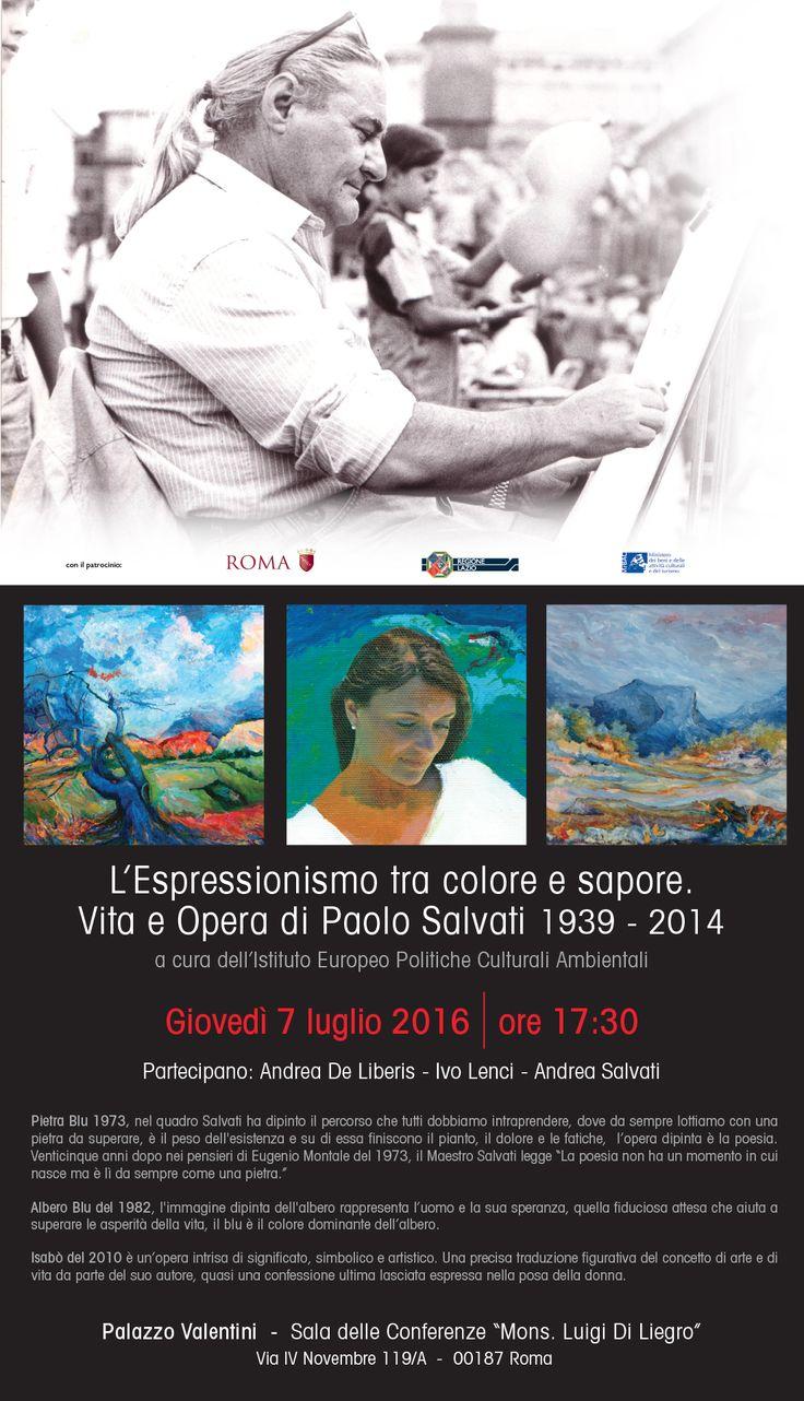 PAOLO SALVATI    Palazzo Valentini  - Mostra 2016