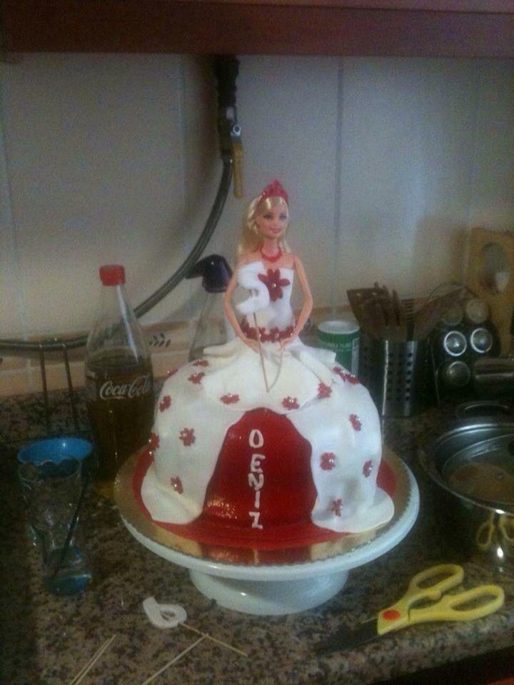 Deniz'imin Prenses pastası  #birthdaycake #fondantcake #princesscake