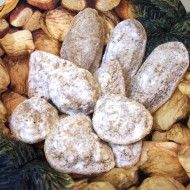 Fotografie receptu: Ořechové tlapky