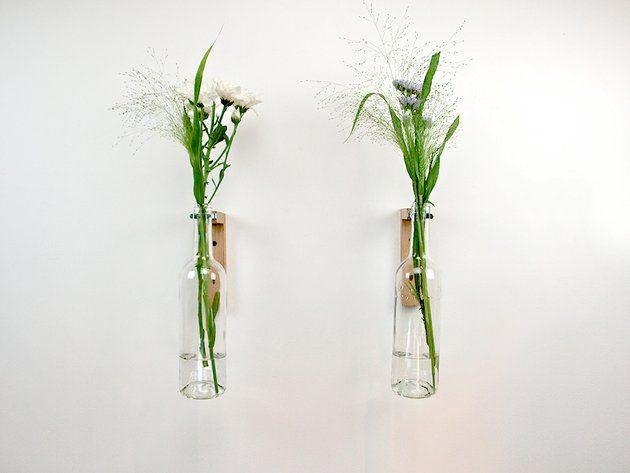 Les 25 meilleures id es concernant vases muraux sur for Cadre floral mural