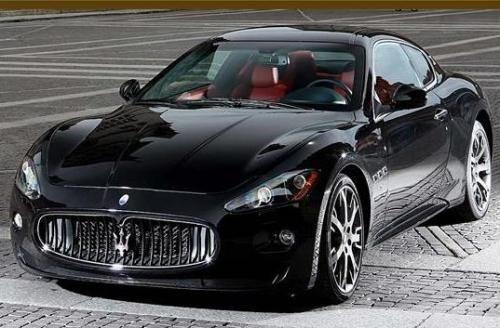 Maserati Negro - elegancia, lujo, estilo de vida, velocidad, coche  www.cochessegundamano.es
