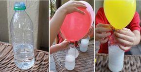Balão de gás hélio caseiro. (Foto: Divulgação)