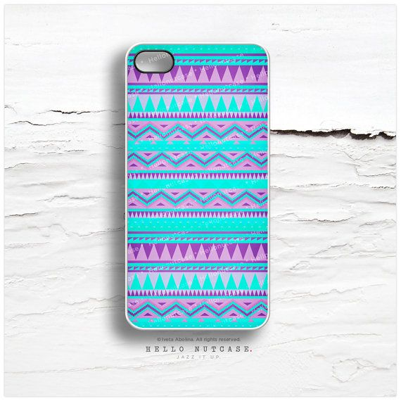 iPhone 5 Case Tribal, iPhone 5s Case Chevron, iPhone 4 Case, Navajo iPhone 4s Case, Geometric iPhone Case, Teal Aztec iPhone Cover I17