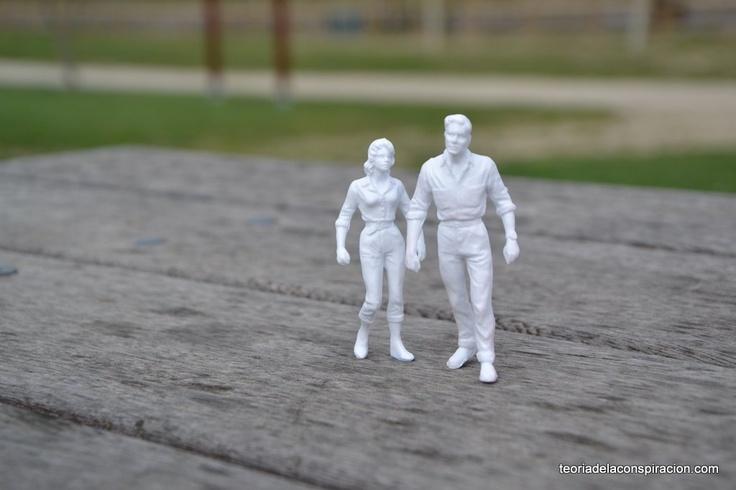 Mr White and Mrs White in a romantic trip to future