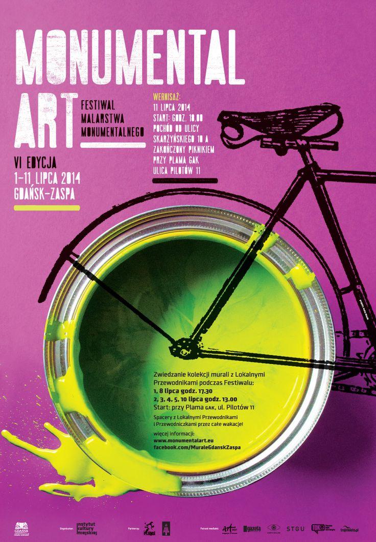 VI Festiwal Malarstwa Monumentalnego / 6th Monumental Art Festival, Projekt/Design: Anita Wasik
