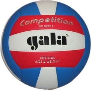 Piłka siatkowa Gala Competition Colour BV 5281 S - Miękka, wytrzymała i przyjemna w dotyku piłka do piłki siatkowej. Spełnia wszystkie parametry FiVB. $28