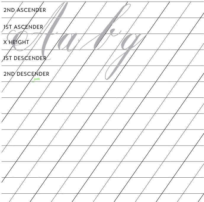 Calligraphy Guide Sheet Paper The O 39 Jays And Blog
