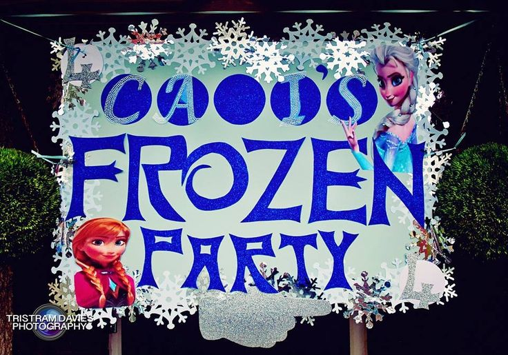 My daughters Frozen Birthday party x