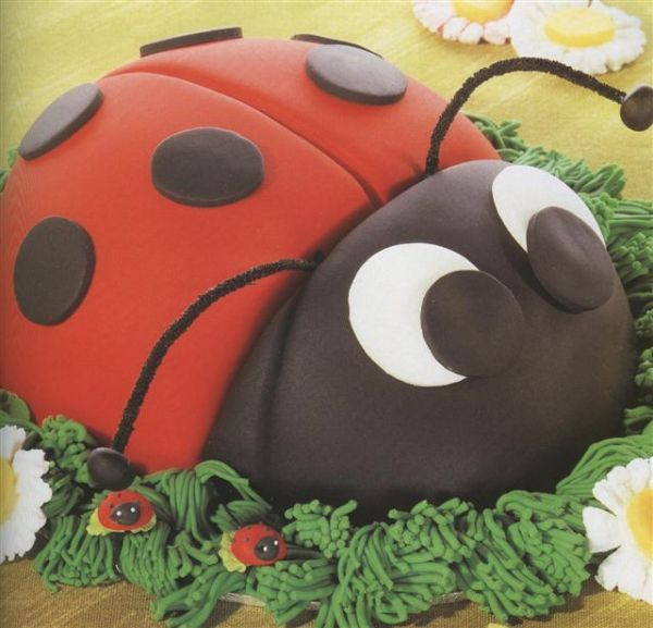 Ladybird chocolate cake recipe