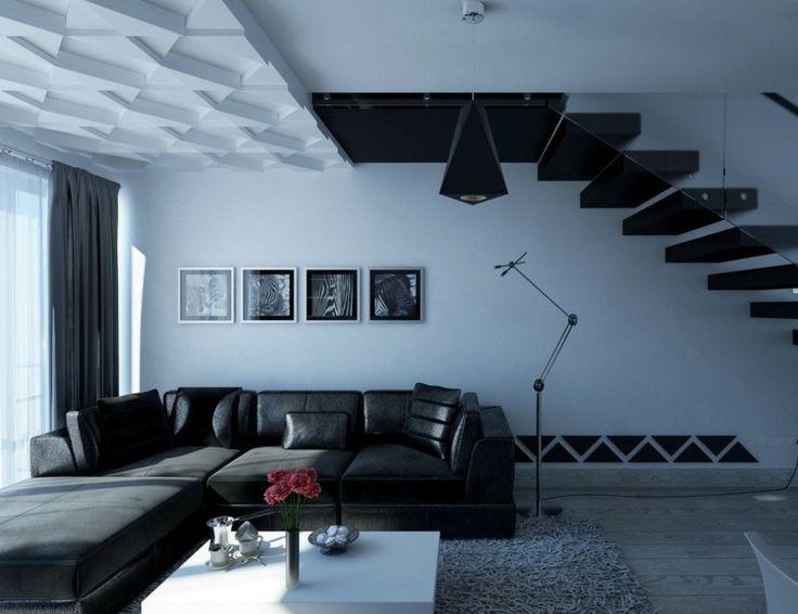 die besten 25+ moderne deckengestaltung ideen auf pinterest - Auergewhnliche Deckengestaltung