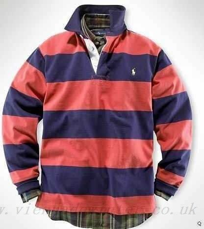 Buy cheap ralph lauren clothing, sale stripes long sleeved polo 29 polo  ralph lauren red