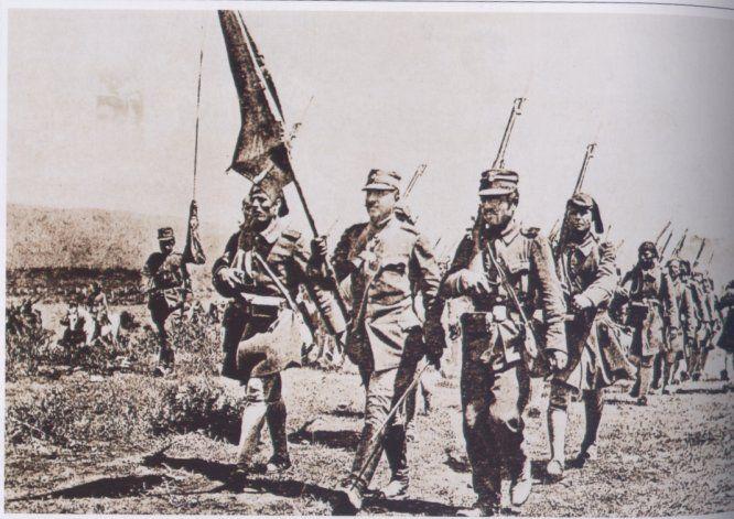 Ελληνες στρατιώτες στή Μικρά Ασία
