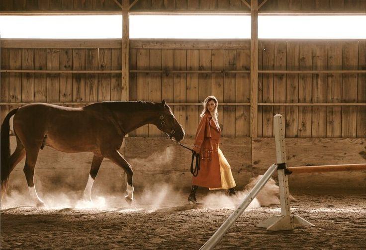 Equestrian Bella Hadid Wears Fendi Lensed by Blair Getz ...