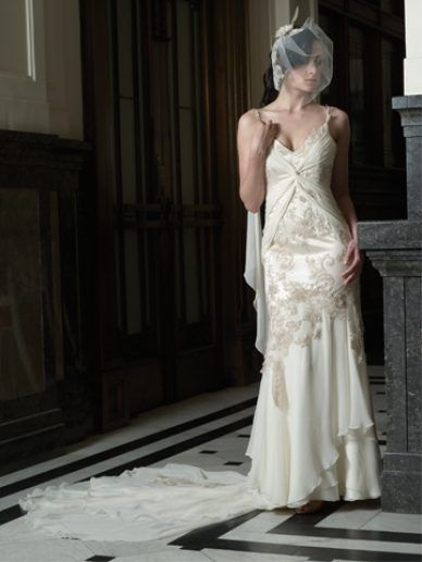 Vintage / Rose Zurzolo Couture wedding gown